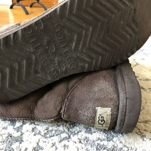 UGG Shoes - Women's Talk Dark Brown Ugg Boots